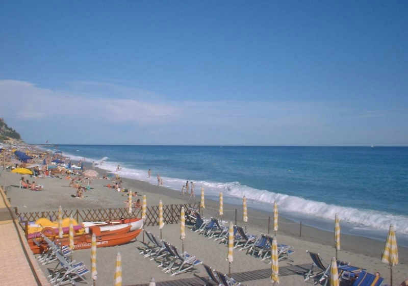 The beaches of Varigotti
