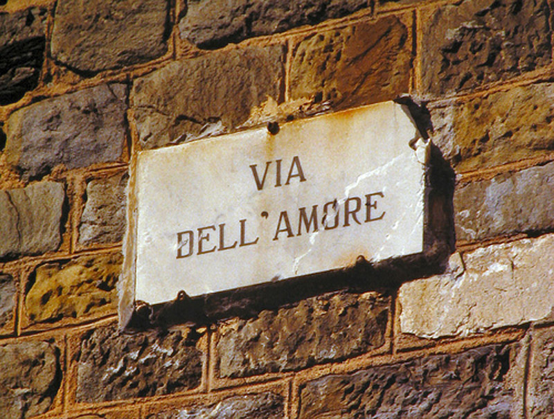 The Via dell Amore in the  Amore