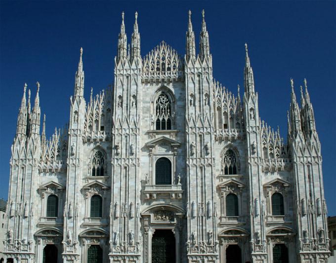 mil n la catedral lombard a italia domo mil n el