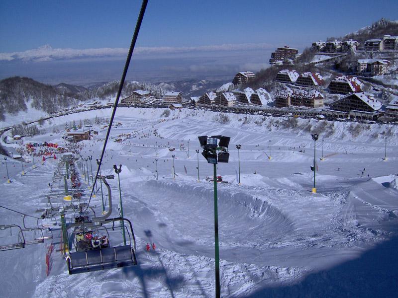 Le parc à neige de Prato Nevoso