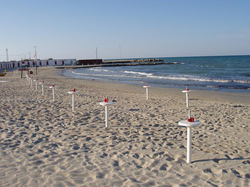 Frigole The Beaches Apulia Italy Beach Frigole The