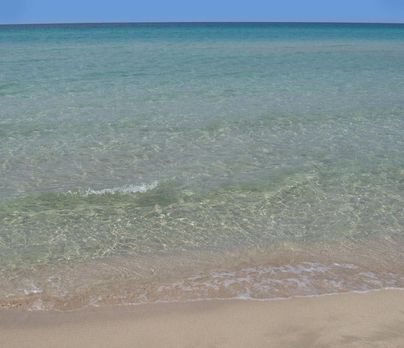Gallipoli La Baia Verde Puglia Italia Spiagge