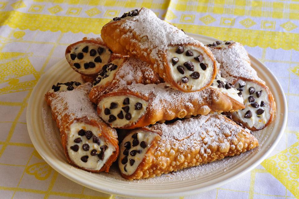 Cannoli sicilianos