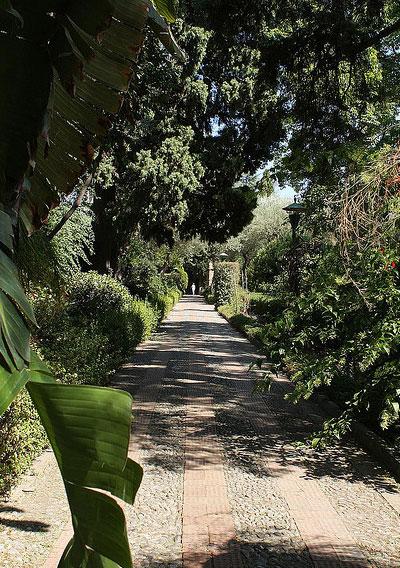 Jardín Público de la villa comunal