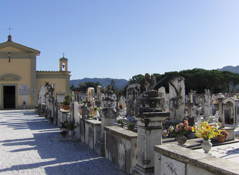Il cimitero La badia