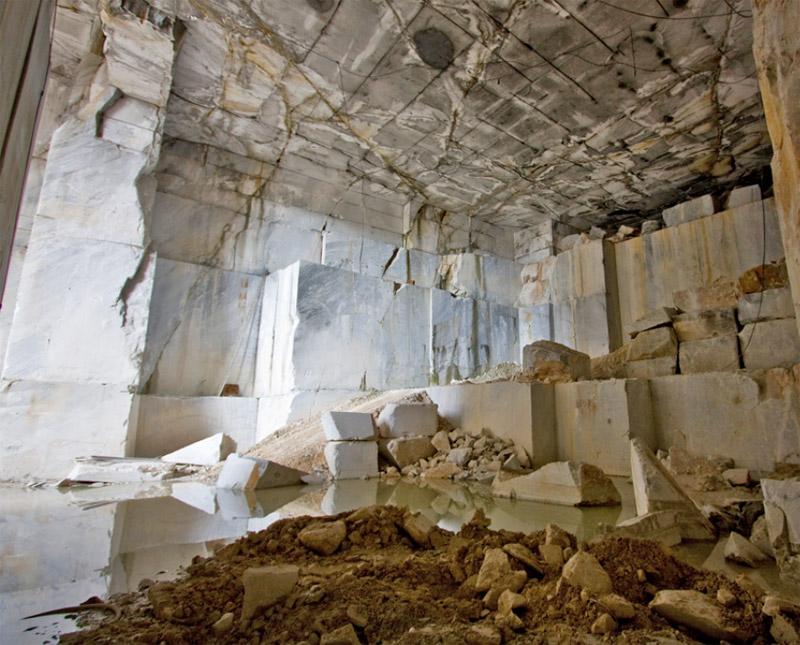 Massa Carrara The Marble Quarries Tuscany Italy