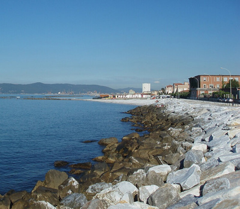 Bien connu Massa et Carrare La mer et les plages (Toscane, Italie) - toscane  FM45