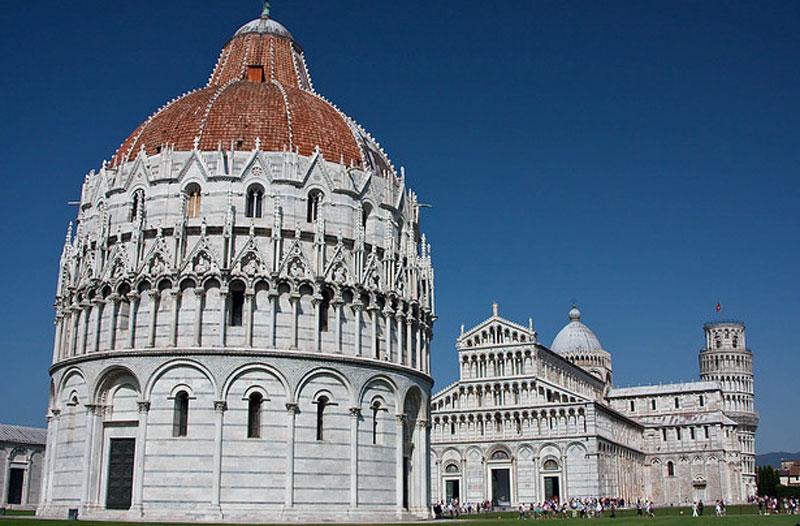Pisa Il Battistero (Toscana, Italia) - battistero Pisa ...