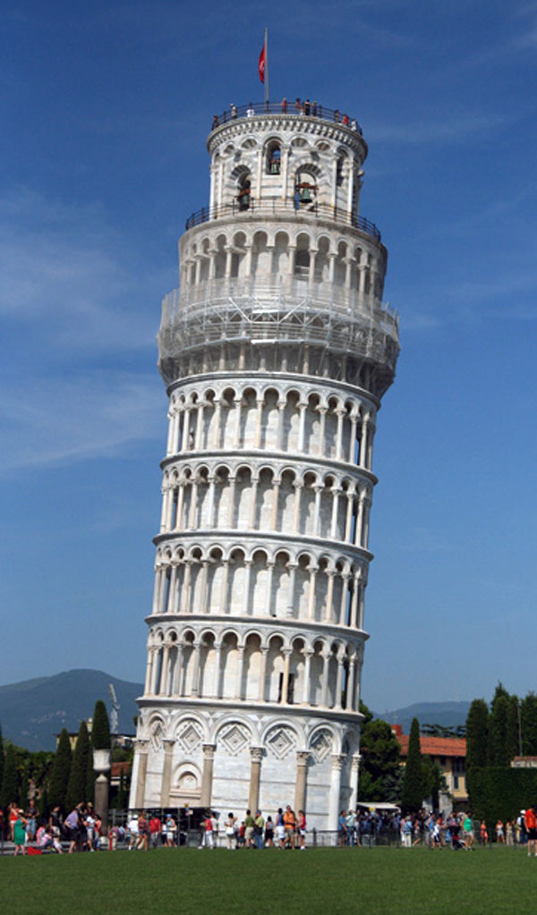 The Tower of Pisa