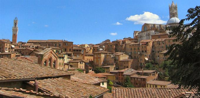 Siena la citt toscana italia zona turismo siena - Vacaciones en la toscana ...