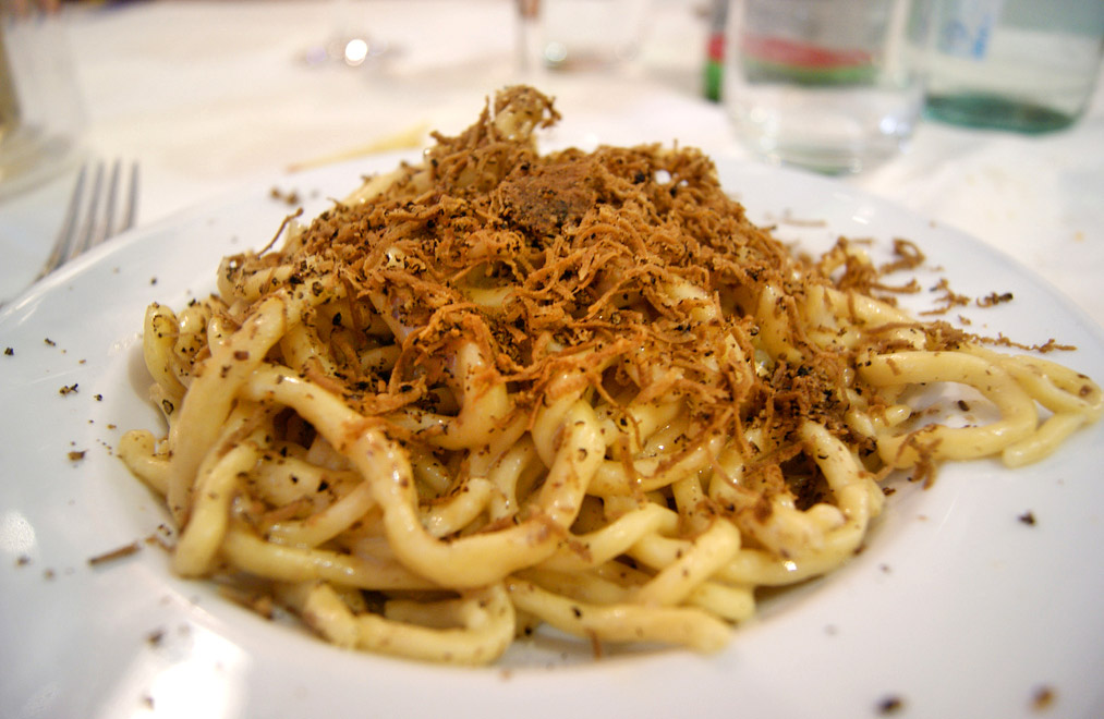 Siena pici toscana italia piatti tipici siena for Prodotti tipici roma