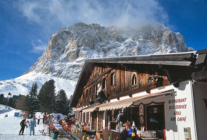 Ortisei piste da sci trentino italia val gardena - Residence sulle piste da sci con piscina ...