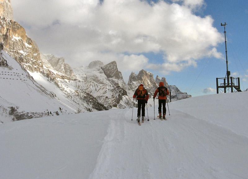Skier à Passo Rolle