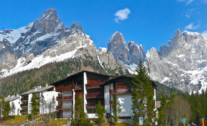 San Martino Di Castrozza The Resort Town Trentino Italy Resort San Martino Di Castrozza