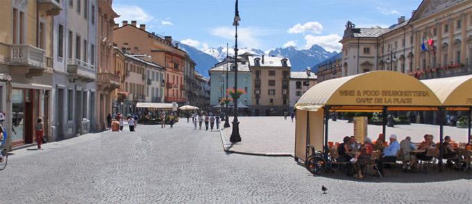 Aoste Italie Centre Ville