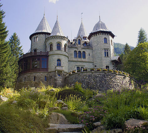 Gressoney Savoy Castle (Aosta Valley, Italy) - castle Gressoney ...