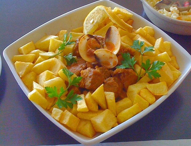 Évora Carne de Porco à Alentejana (Alentejo Central ...