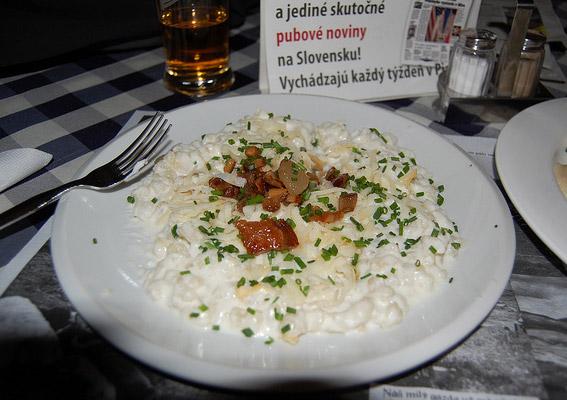 Bryndzove Halusky