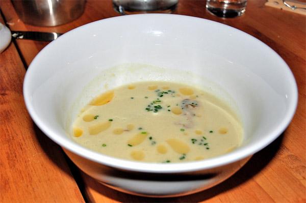 Soupe huîtres