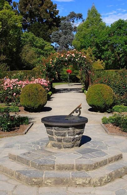Christchurch botanic garden new zealand walking tours for Landscape gardeners christchurch