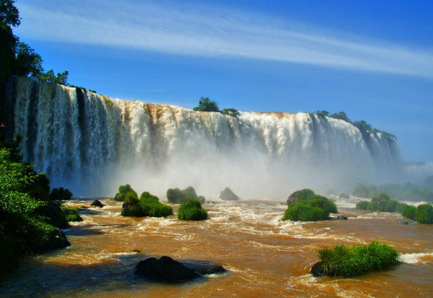 Cataratas del iguazú, en imágenes
