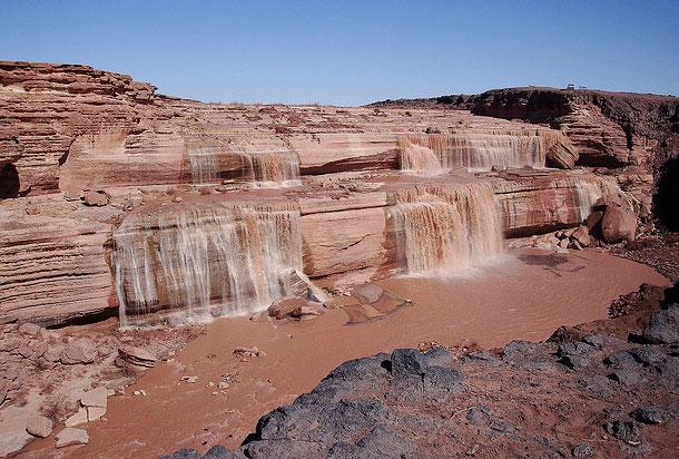 Niagara Falls Hotels >> Flagstaff Grand Falls (Northern Arizona, Arizona) - fall ...