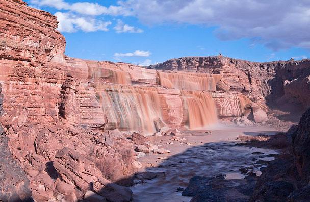 Niagara Falls Hotels >> Flagstaff Grand Falls (Northern Arizona, Arizona) - fall Flagstaff - falls Flagstaff - waterfall ...