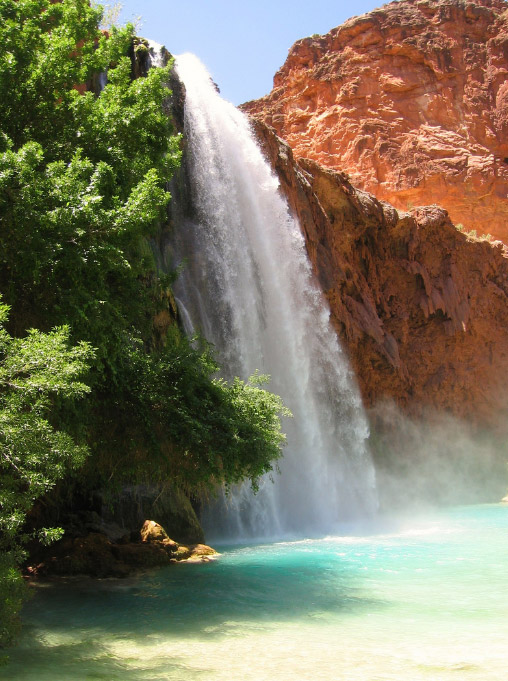 Havasu Wasserfälle