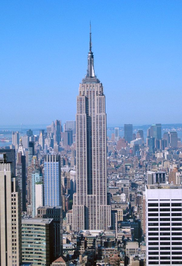 new york city empire state building new york historische st dte new york city historisches. Black Bedroom Furniture Sets. Home Design Ideas
